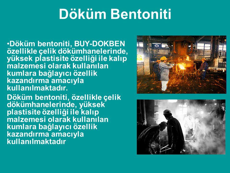 Döküm Bentoniti