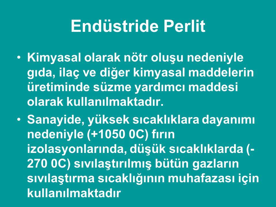 Endüstride Perlit