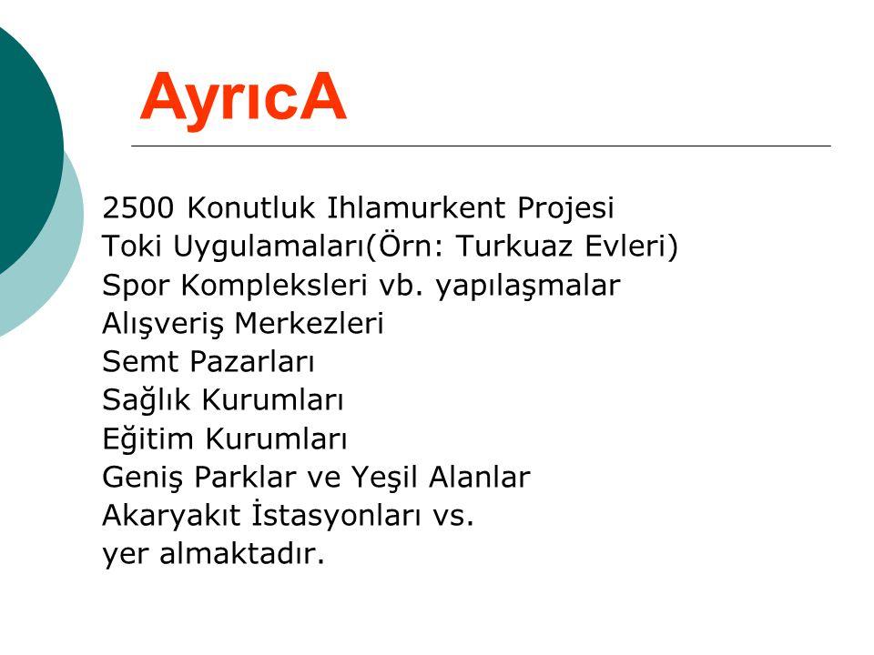AyrıcA 2500 Konutluk Ihlamurkent Projesi