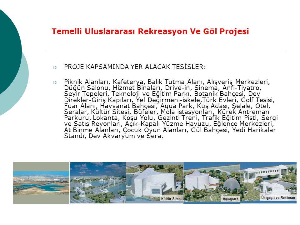 Temelli Uluslararası Rekreasyon Ve Göl Projesi