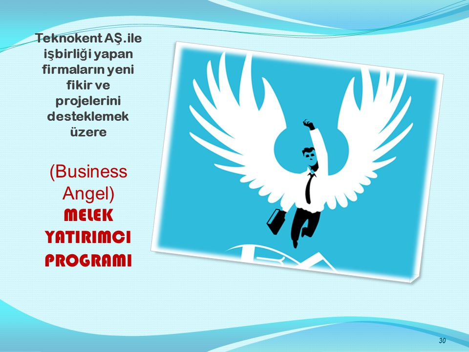 (Business Angel) MELEK YATIRIMCI