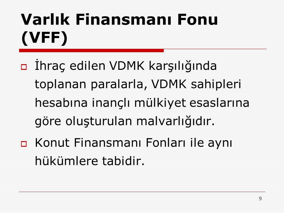 Varlık Finansmanı Fonu (VFF)