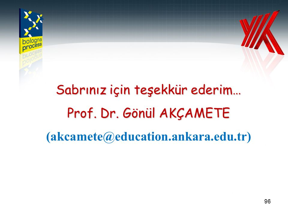 (akcamete@education.ankara.edu.tr)