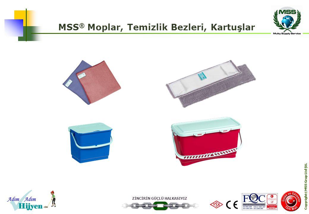 MSS® Moplar, Temizlik Bezleri, Kartuşlar Copyright©MSS Grup Ltd Şti.