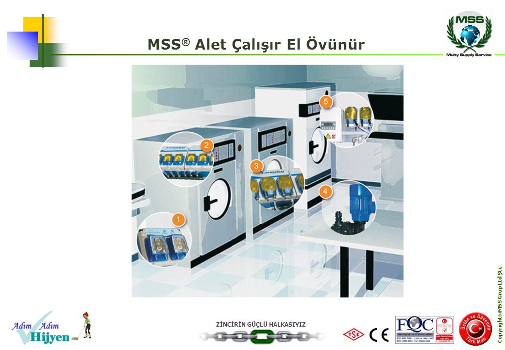 MSS® Alet Çalışır El Övünür Copyright©MSS Grup Ltd Şti.