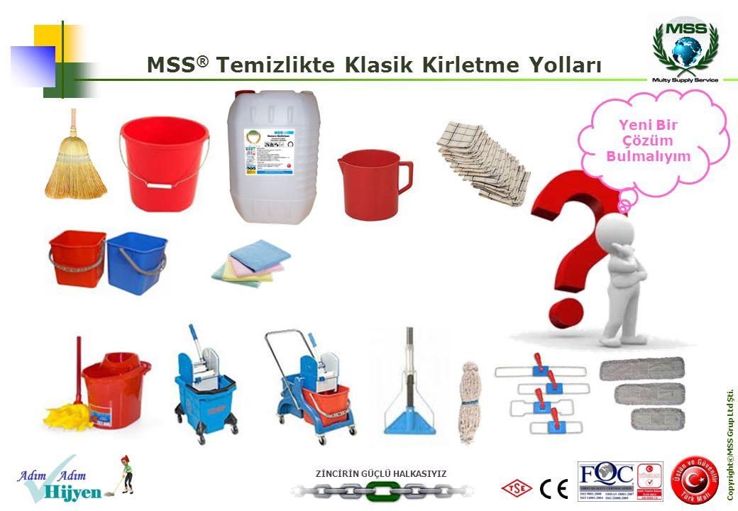 MSS® Temizlikte Klasik Kirletme Yolları