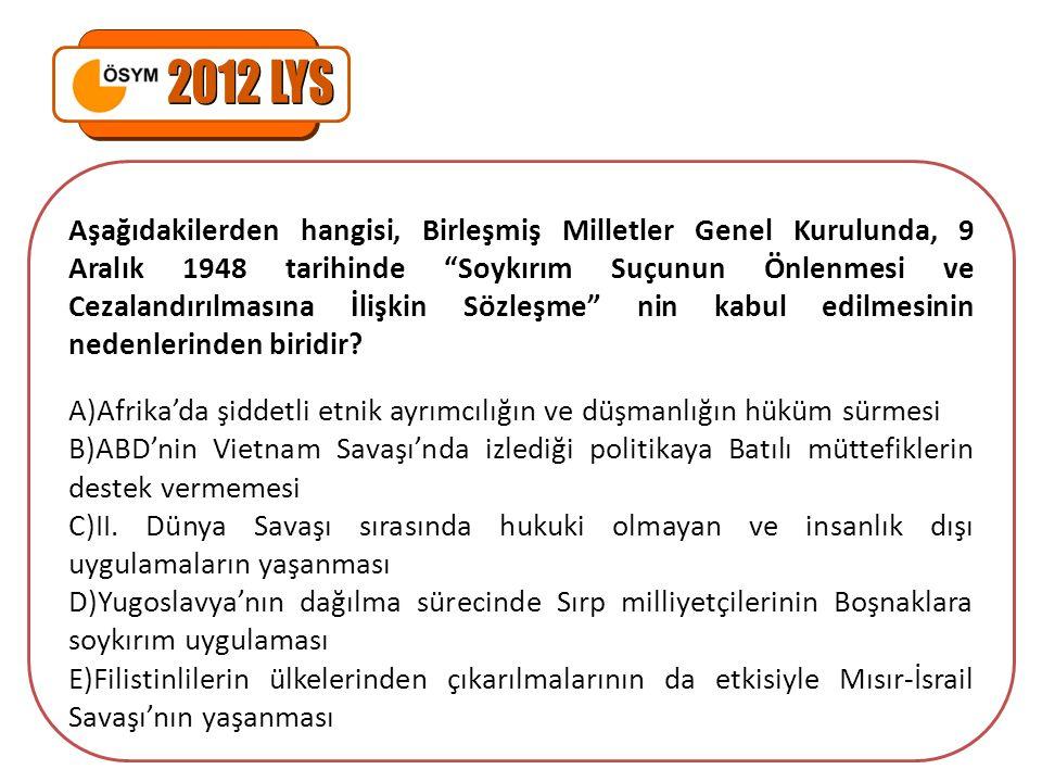 2012 LYS