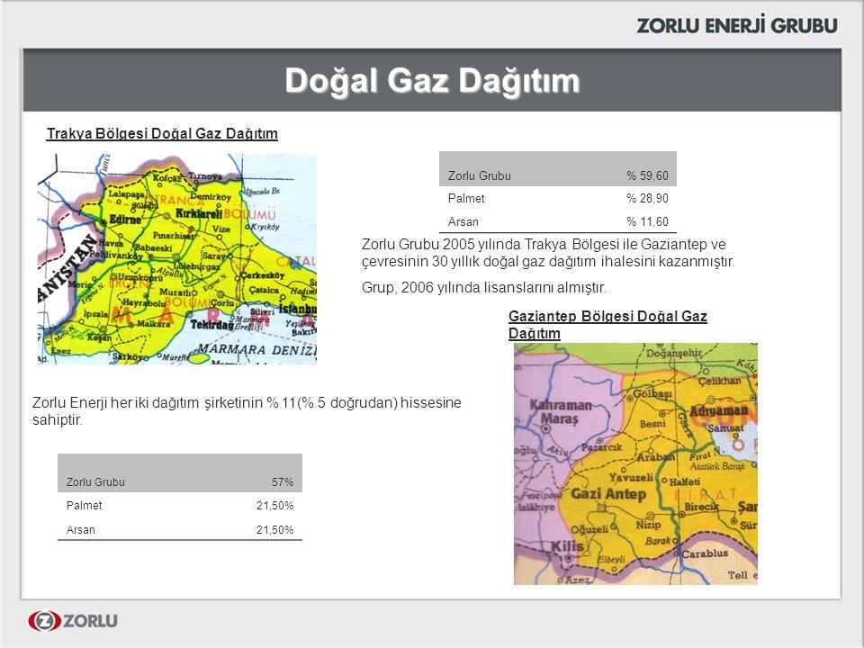 Doğal Gaz Dağıtım Trakya Bölgesi Doğal Gaz Dağıtım