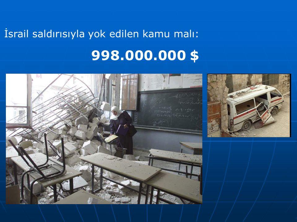 İsrail saldırısıyla yok edilen kamu malı: