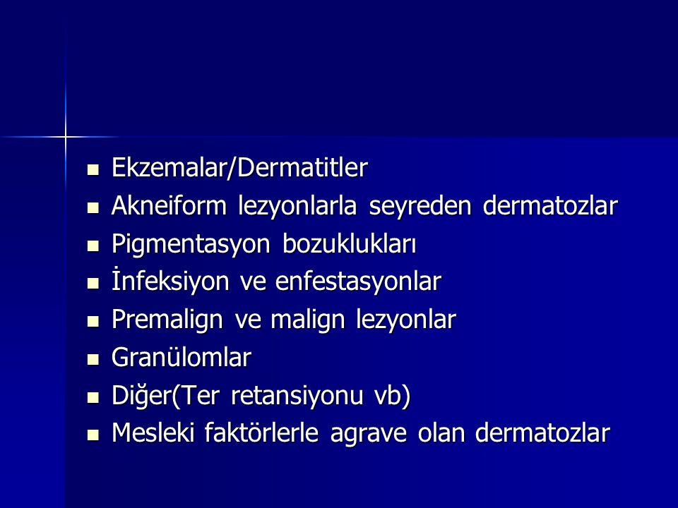 Ekzemalar/Dermatitler