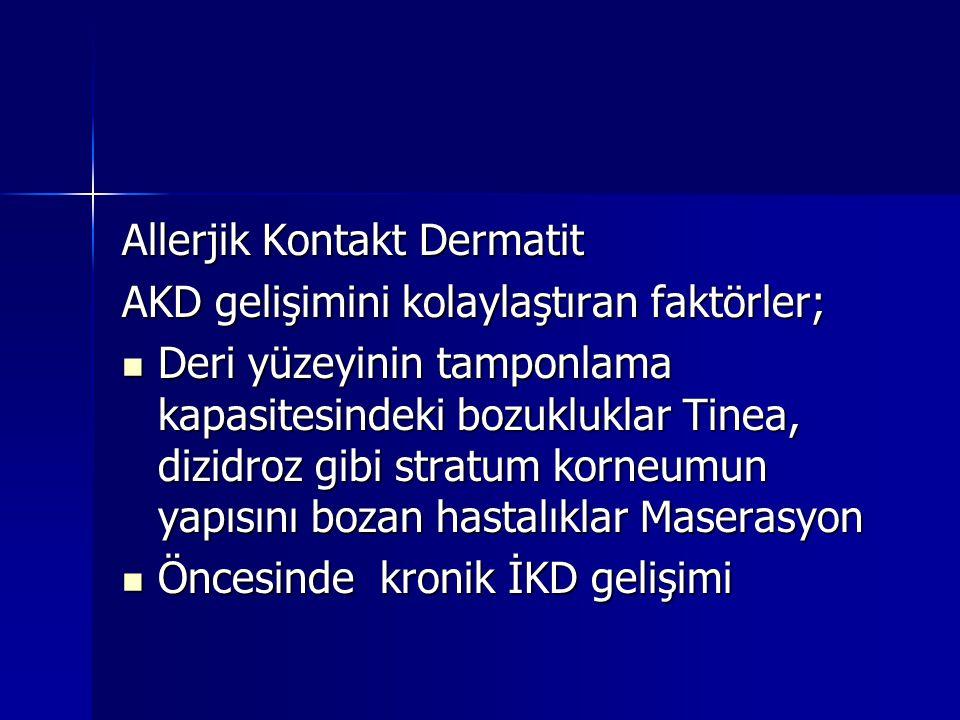 Allerjik Kontakt Dermatit