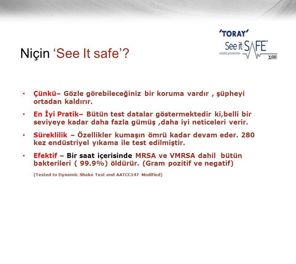 Niçin 'See It safe' Çünkü– Gözle görebileceğiniz bir koruma vardır , şüpheyi ortadan kaldırır.