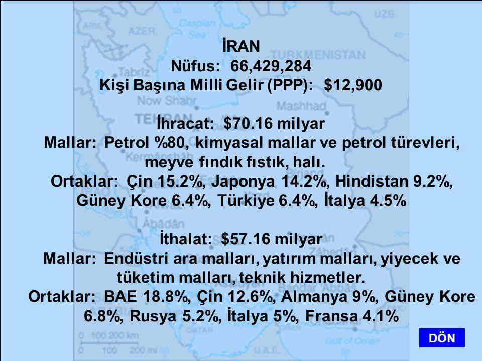 Kişi Başına Milli Gelir (PPP): $12,900