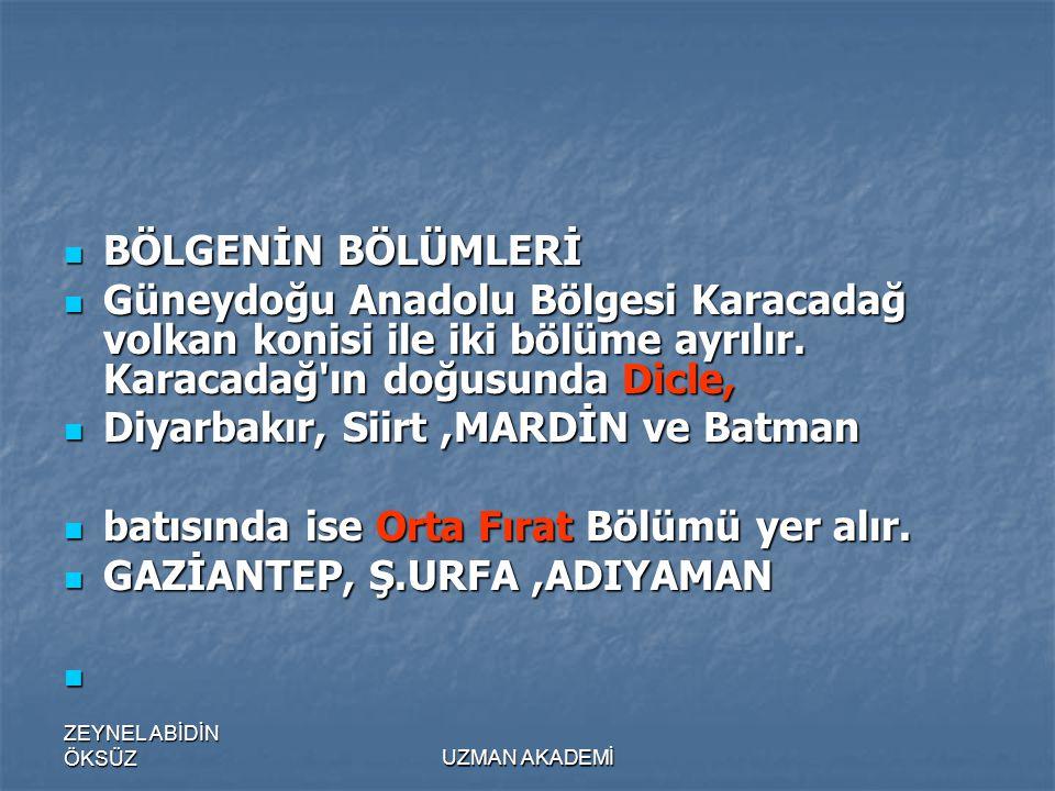 Diyarbakır, Siirt ,MARDİN ve Batman