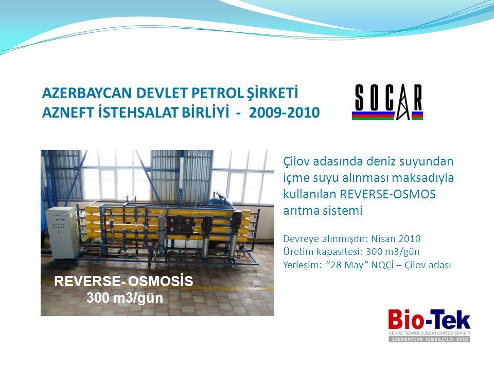 AZERBAYCAN DEVLET PETROL ŞİRKETİ AZNEFT İSTEHSALAT BİRLİYİ - 2009-2010