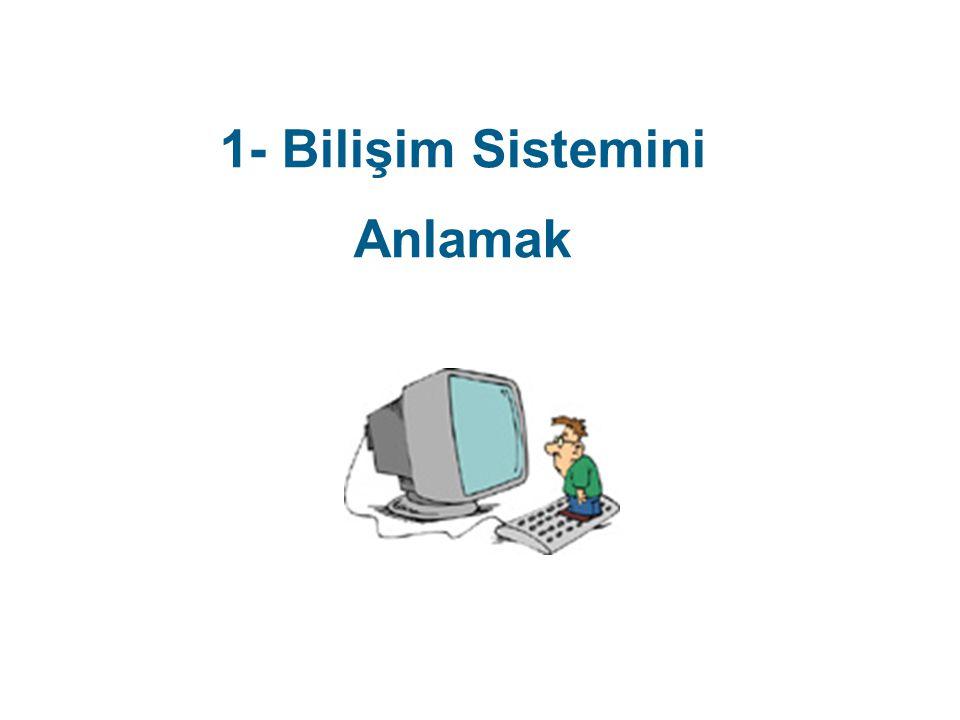 1- Bilişim Sistemini Anlamak