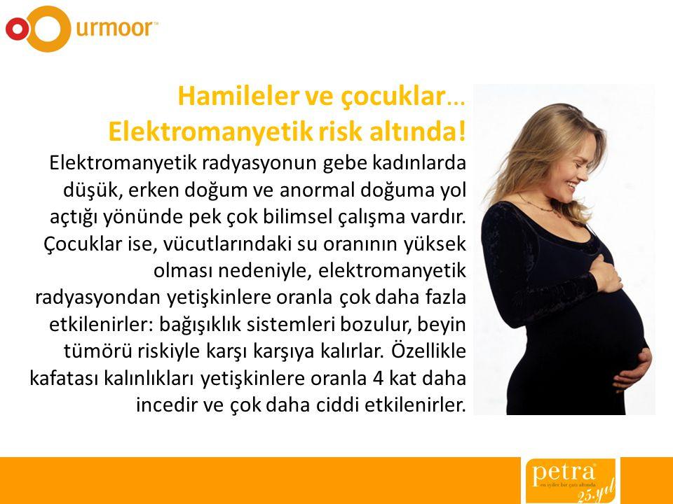 Hamileler ve çocuklar… Elektromanyetik risk altında!