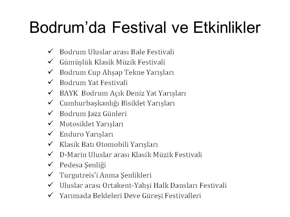 Bodrum'da Festival ve Etkinlikler
