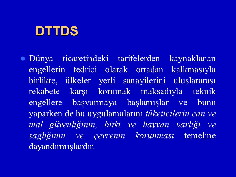 DTTDS