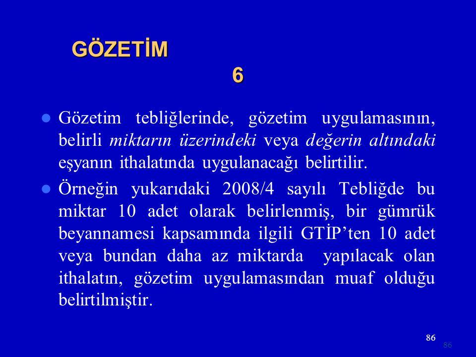 GÖZETİM 6