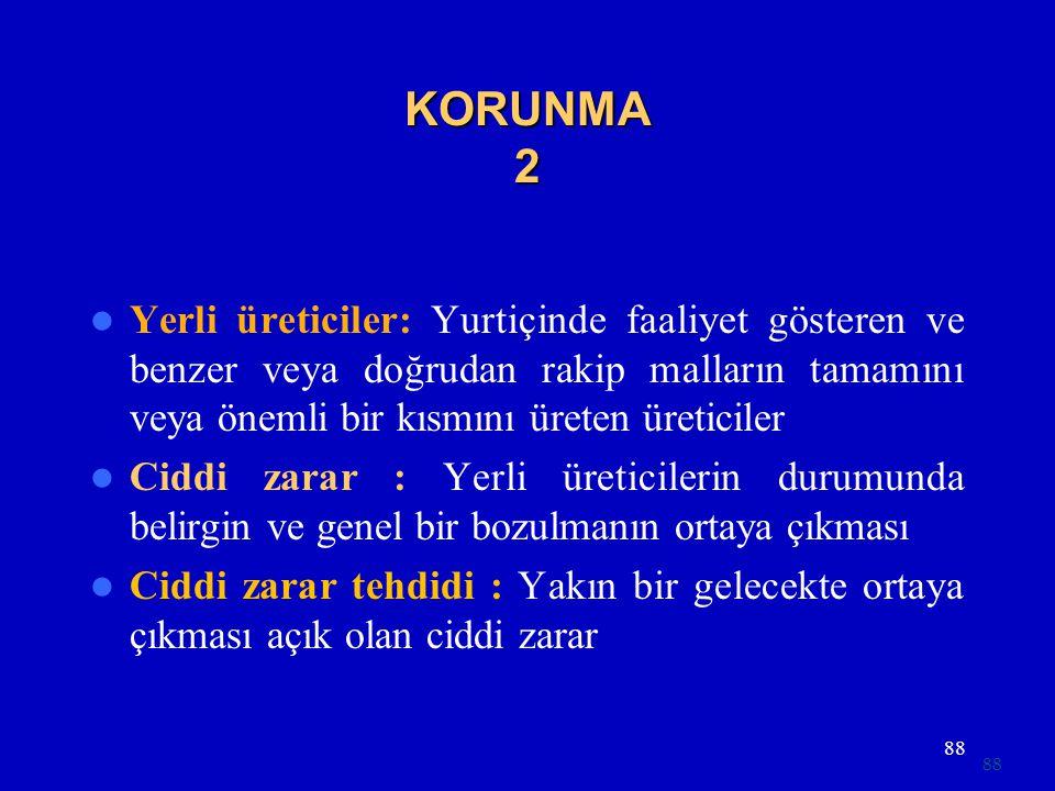 KORUNMA 2