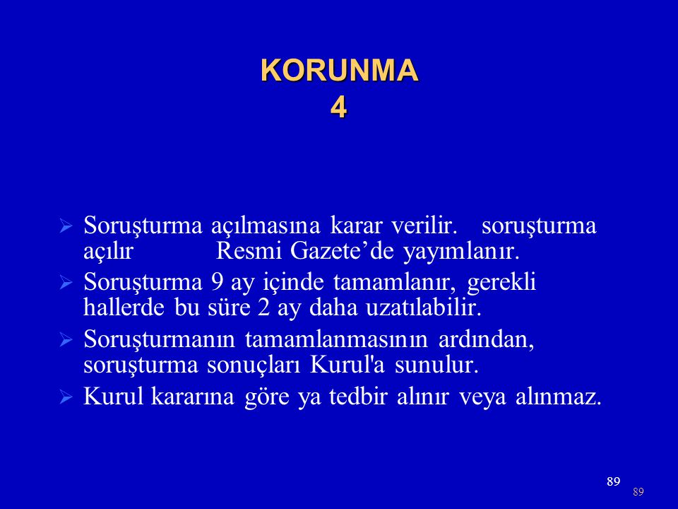 KORUNMA 4