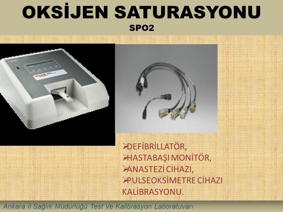 OKSİJEN SATURASYONU SPO2