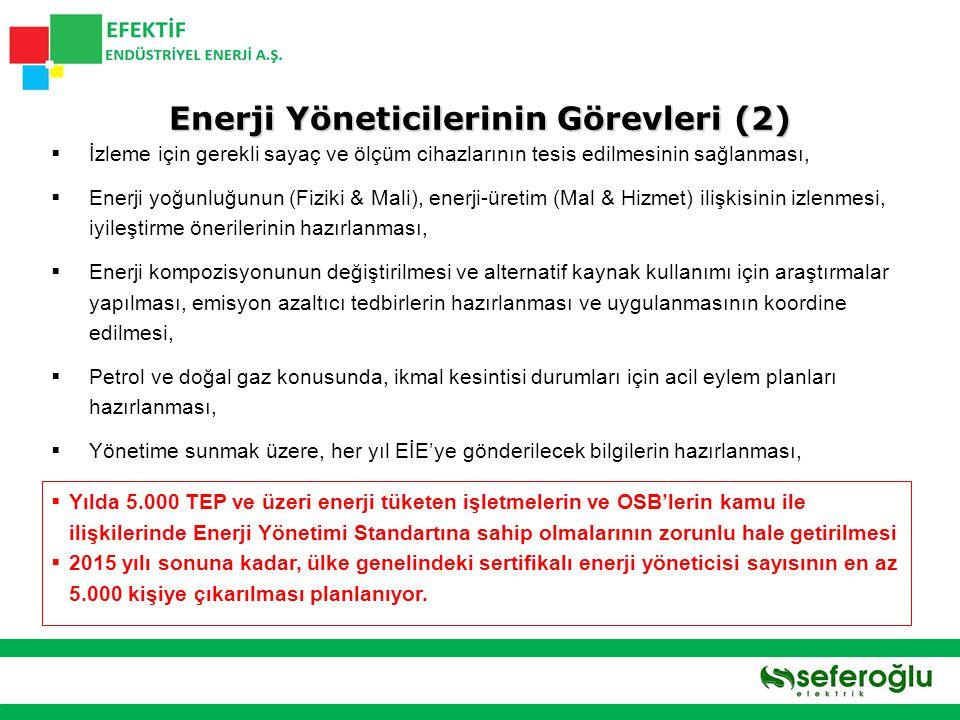 Enerji Yöneticilerinin Görevleri (2)