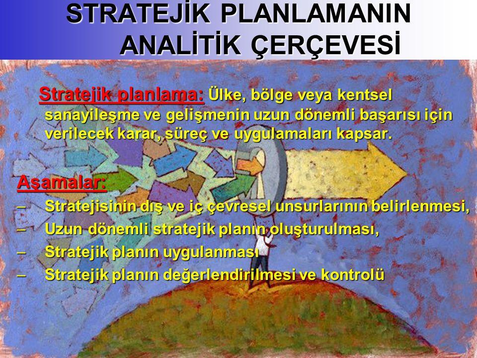 STRATEJİK PLANLAMANIN ANALİTİK ÇERÇEVESİ
