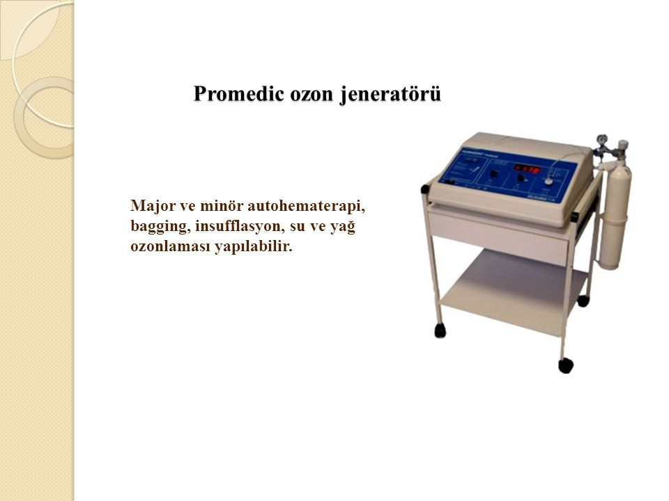 Promedic ozon jeneratörü
