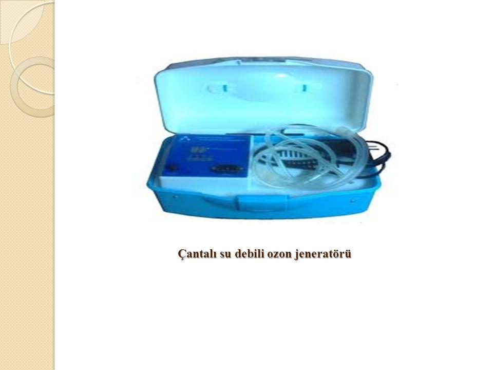 Çantalı su debili ozon jeneratörü