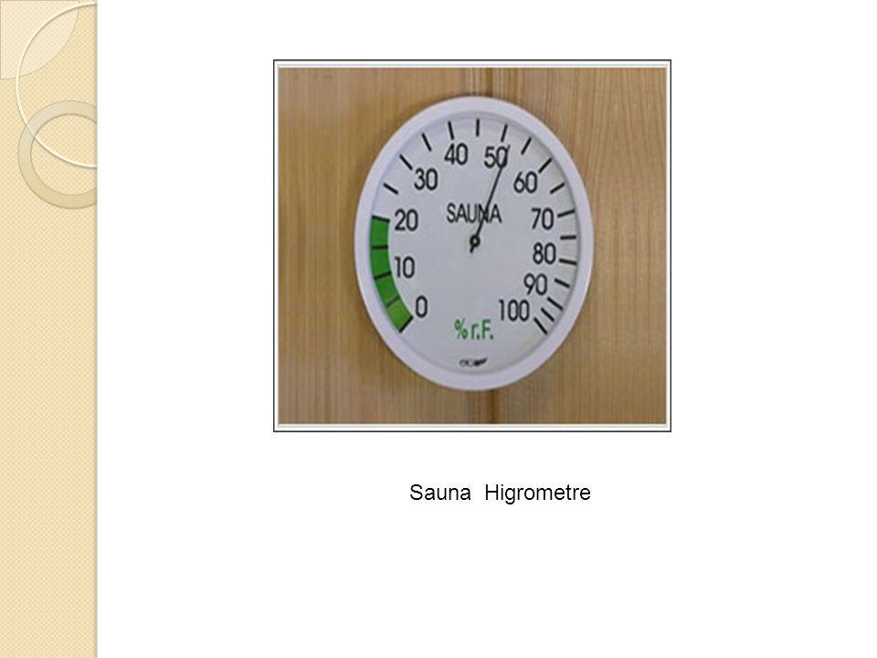 Sauna Higrometre