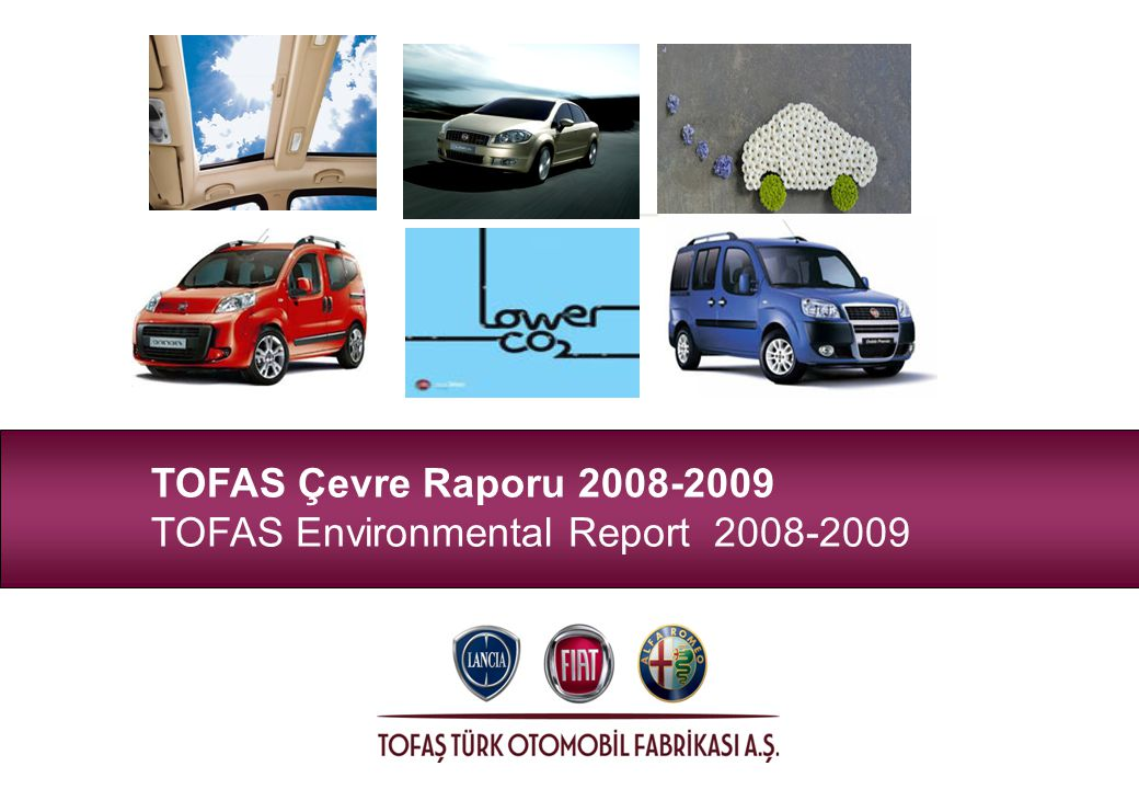 TOFAS Çevre Raporu TOFAS Environmental Report