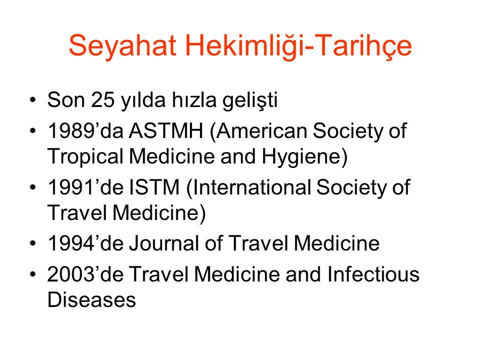 Seyahat Hekimliği-Tarihçe