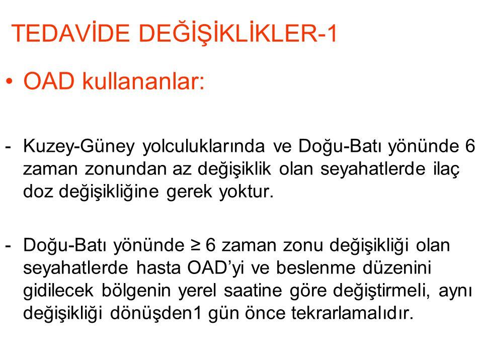 TEDAVİDE DEĞİŞİKLİKLER-1