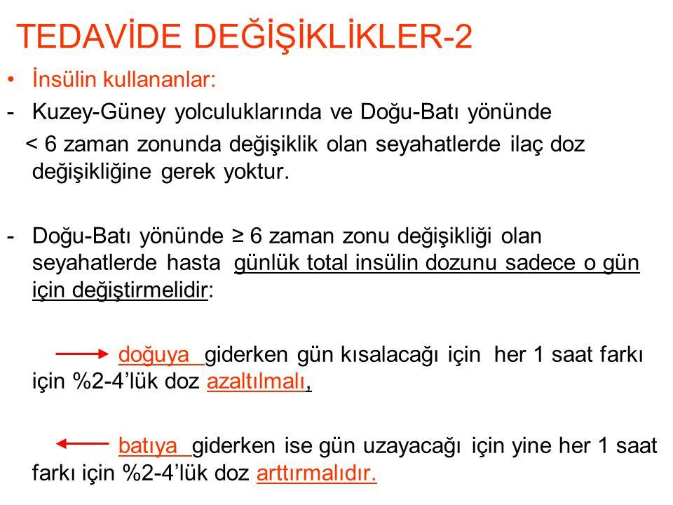 TEDAVİDE DEĞİŞİKLİKLER-2