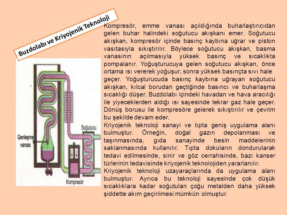 Buzdolabı ve Kriyojenik Teknoloji