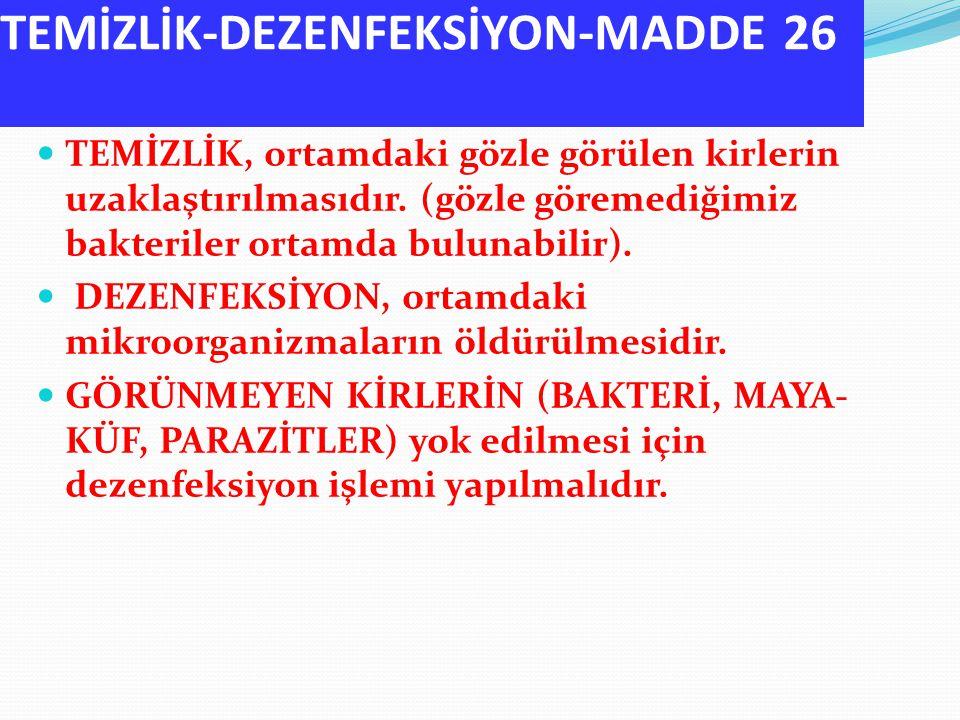 TEMİZLİK-DEZENFEKSİYON-MADDE 26