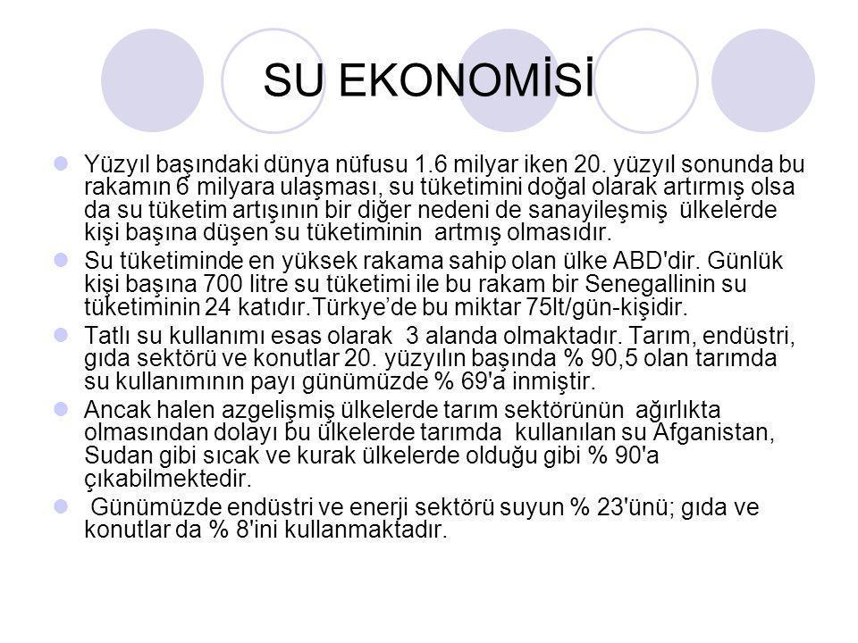 SU EKONOMİSİ