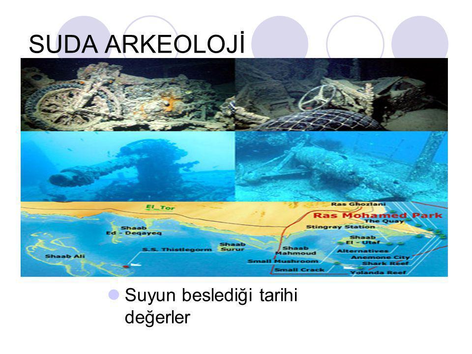 SUDA ARKEOLOJİ Suyun beslediği tarihi değerler