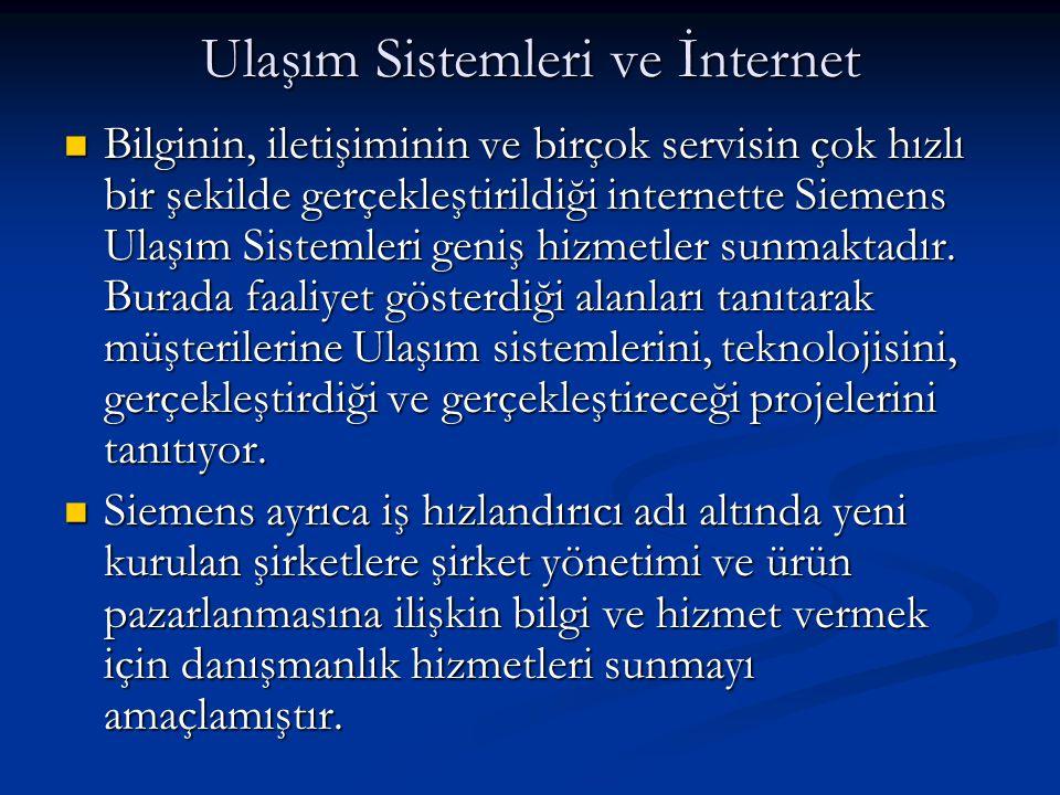Ulaşım Sistemleri ve İnternet