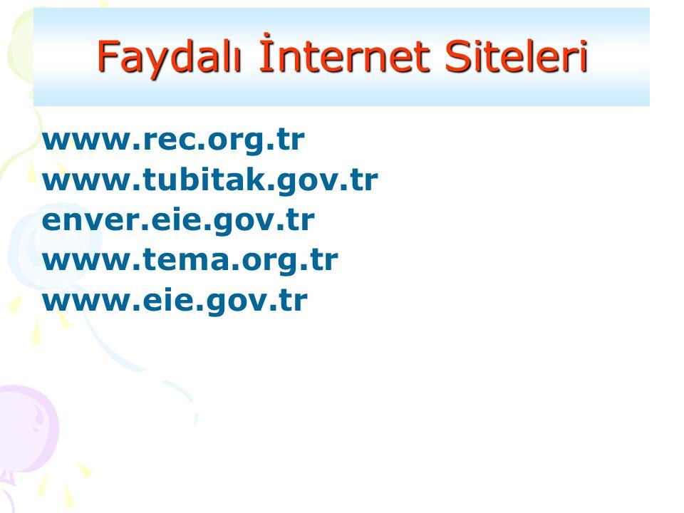 Faydalı İnternet Siteleri