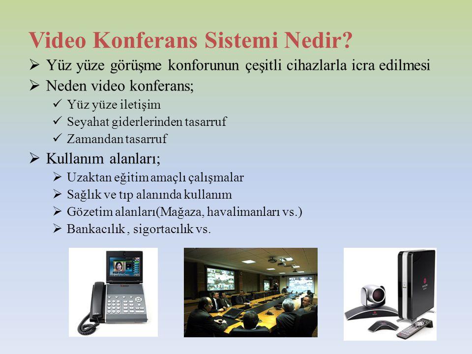 Video Konferans Sistemi Nedir