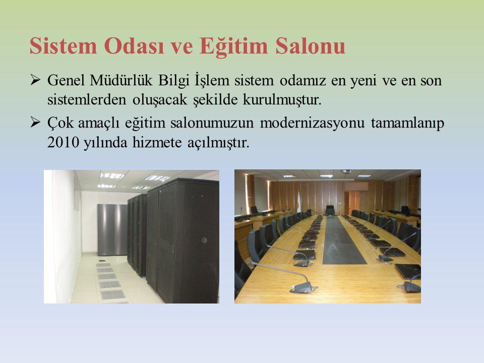 Sistem Odası ve Eğitim Salonu