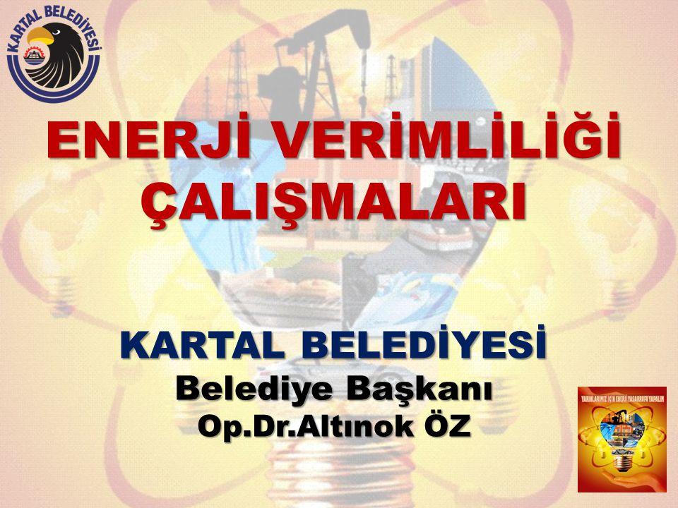 ENERJİ VERİMLİLİĞİ ÇALIŞMALARI KARTAL BELEDİYESİ Belediye Başkanı Op