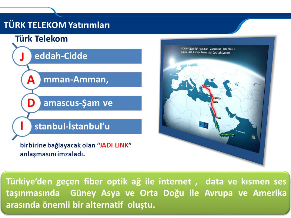 J A D I eddah-Cidde mman-Amman, amascus-Şam ve stanbul-İstanbul'u