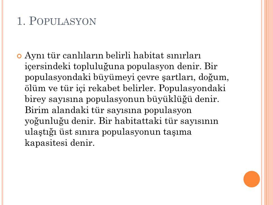 1. Populasyon