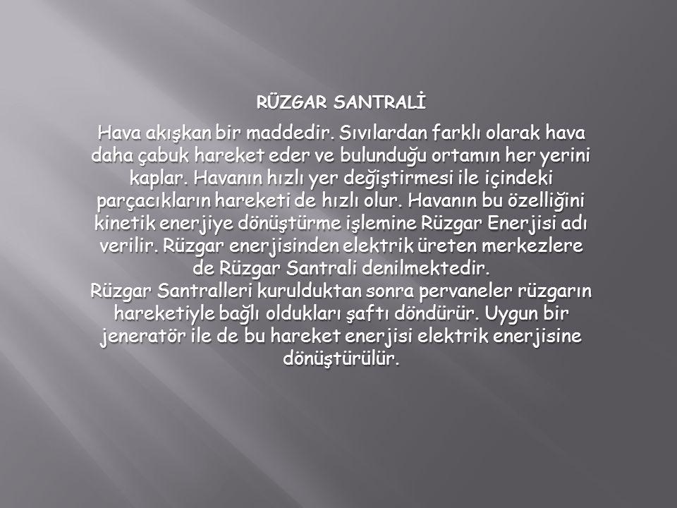 RÜZGAR SANTRALİ