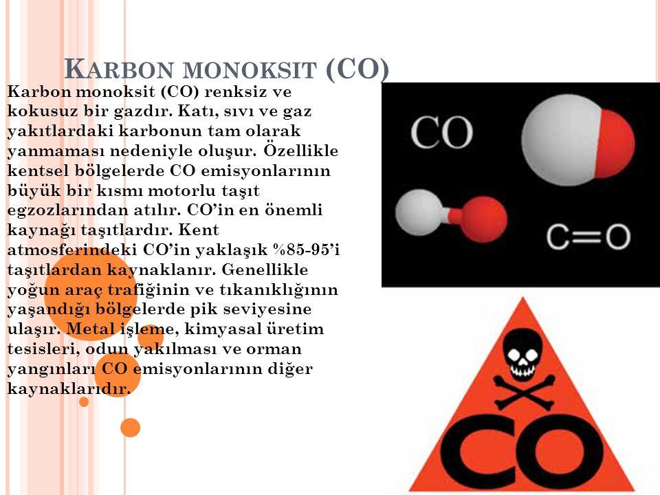 Karbon monoksit (CO)