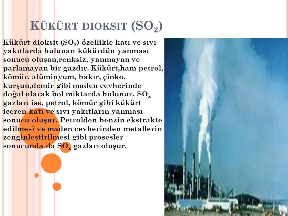 Kükürt dioksit (SO2)